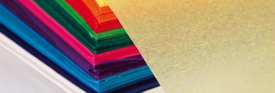 Les utilisations du papier de soie