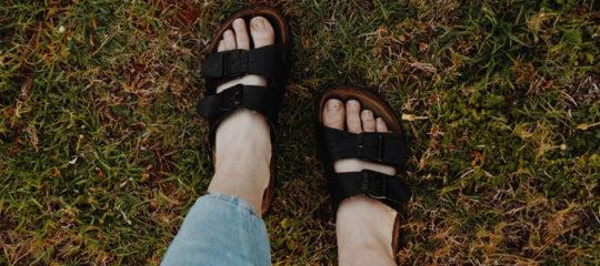 sandale haut de gamme